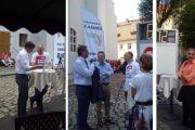 Tag der Sachsen 2015 in Wurzen - Bi Elbtal präsentiert sich mit Info-Stand