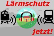 Online-Petition: Konsequenter Ausbau des Lärmschutzes an Bahntrassen jetzt!